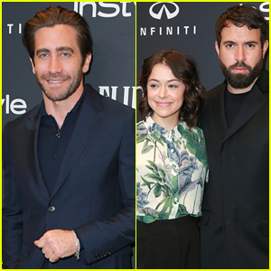 Jake Gyllenhaal, Tatiana Maslany, & Tom Cullen Attend InStyle's Golden Globes 2018 Celebration