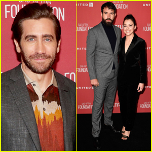Jake Gyllenhaal & Tatiana Maslany Hit the Stage to Present at SAG Foundation Awards!