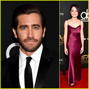 Jake Gyllenhaal & Tatiana Maslany Hit the Red Carpet at Hollywood Film Awards 2017!