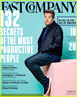 James Corden Reveals the One Item He Can't Get Through the Day Without