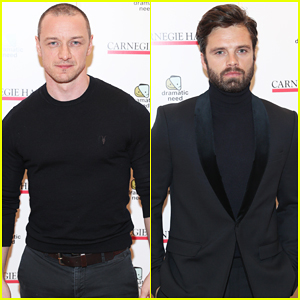 James McAvoy, Sebastian Stan & More Represent The Studs at The Children's Monologues' Benefit!