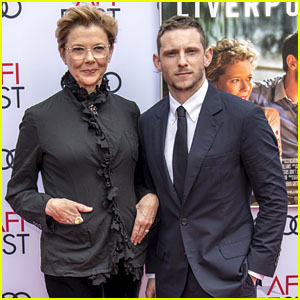 Jamie Bell & Annette Bening Strike a Pose Together at AFI Fest 2017!