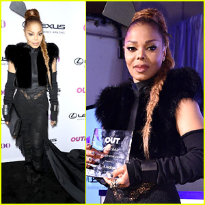 Janet Jackson Honored with Icon Award at Out100!