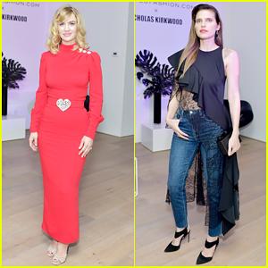 January Jones & Lake Bell Buddy Up at Nicholas Kirkwood x Matches Fashion Collection Celebration!