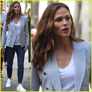 Jennifer Garner Gets to Work on Upcoming Movie 'Peppermint'