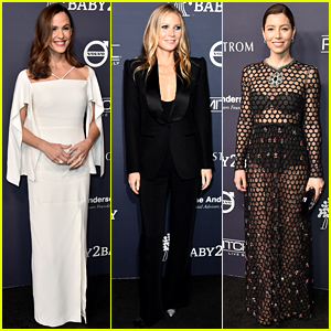 Jennifer Garner, Gwyneth Paltrow, & Jessica Biel Go Glam for Baby2Baby Gala