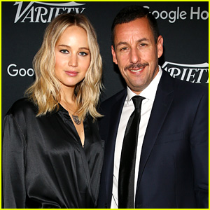 Jennifer Lawrence Tells Adam Sandler Why She's 'Rude' to Fans