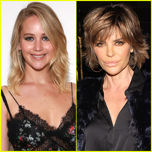 Jennifer Lawrence Freaks Out While Meeting 'RHOBH' Star Lisa Rinna - See the Photos!
