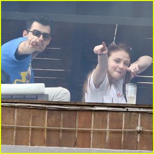 Joe Jonas & Sophie Turner Have Some Fun in Rio de Janeiro!