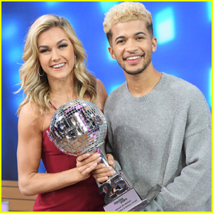 Jordan Fisher Celebrates His 'DWTS' Win on 'Good Morning America' - Watch Now!