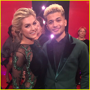 Jordan Fisher & Lindsay Arnold Perform a Perfect Jive for 'DWTS' Semi-Finals! (Video)