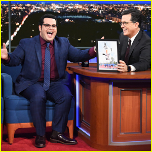 Josh Gad Tells Stephen Colbert He Can't Turn Off 'Olaf' Voice: 'It's My Voice'!