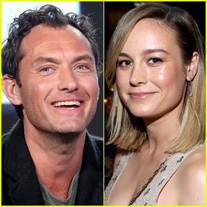 Jude Law to Star in 'Captain Marvel' Opposite Brie Larson