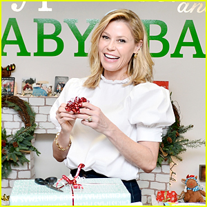 Julie Bowen Wraps Gifts for Low-Income Children at Baby2Baby Holiday Wrapping Party!
