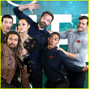 'Justice League' Cast Gets Silly at London Photo Call!