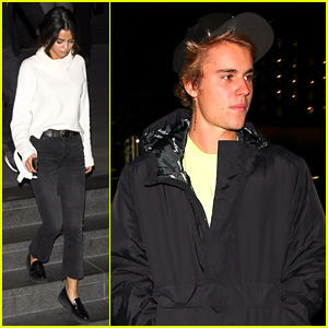 Justin Bieber & Selena Gomez Grab Late Night Dinner After Church