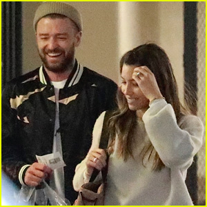 Justin Timberlake & Jessica Biel Enjoy a Fun Big Apple Night!