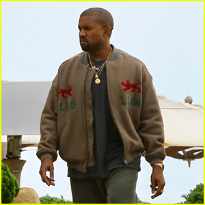 Kanye West Keeps It Casual While Heading to Lunch at Nobu!