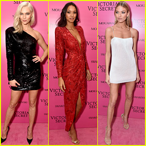 Karlie Kloss Joins Lais Ribeiro, Martha Hunt & More Angels at Victoria's Secret After Party!