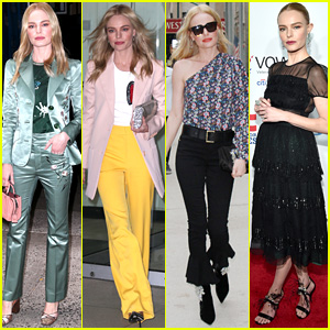 Kate Bosworth Wears Four Stylish Outfits for One Day of Press