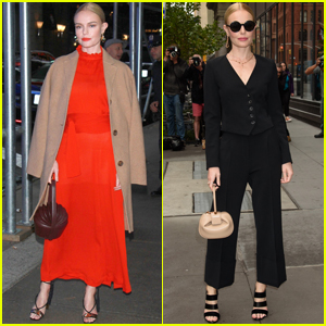 Kate Bosworth Shows Off Chic Looks While Promoting 'The Long Road Home'