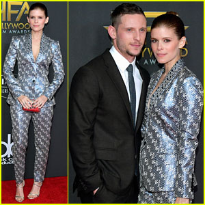 Kate Mara Supports Husband Jamie Bell at Hollywood Film Awards 2017