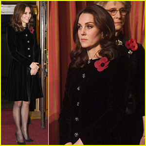 Pregnant Kate Middleton Joins the Queen at Royal Festival of Remembrance