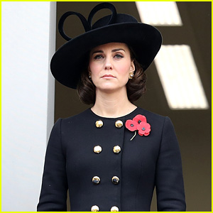 Kate Middleton & Royal Family Attend Remembrance Sunday Memorial