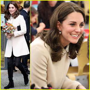 Kate Middleton Supports Fellow Pregnant Moms at Rescheduled Family Action Visit!