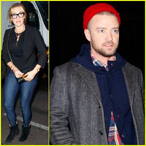 Kate Winslet & Justin Timberlake Meet Up for Secret 'Wonder Wheel' NYC Screening!