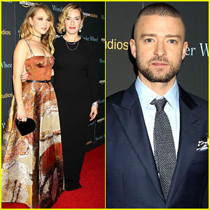 Kate Winslet & Justin Timberlake Pick the Same Designer for 'Wonder Wheel' NYC Screening!