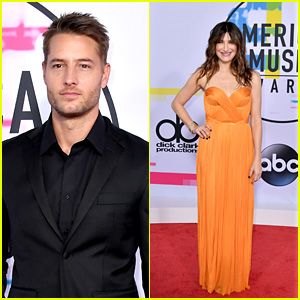 Justin Hartley & Kathryn Hahn Hit the Red Carpet at American Music Awards 2017!