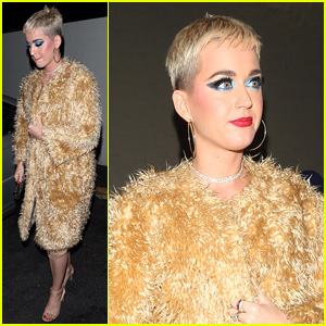 Katy Perry Gets Late Night Bite to Eat After 'Witness' Tour Performance