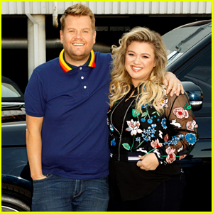 Kelly Clarkson Hits the Road With James Corden for Carpool Karaoke - Watch Now!