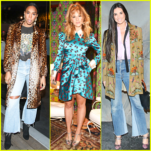 Kelly Rowland, Juno Temple, Demi Moore & Daughters Celebrate Gucci Décor Collaboration!