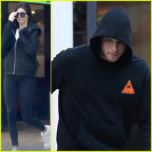 Kendall Jenner & Blake Griffin Get a Parking Ticket After Dinner