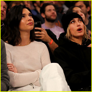 Kendall Jenner Cheers on Blake Griffin Courtside at Clippers Game!