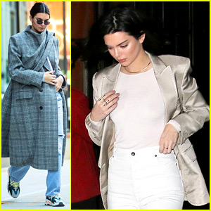 Kendall Jenner Hangs with Friends in NYC After Skipping Victoria's Secret Fashion Show