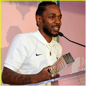 Kendrick Lamar Honored as a Hitmaker at Variety Luncheon