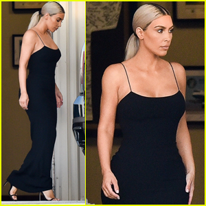Kim Kardashian Gets Glam For Serena Williams' Wedding!