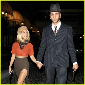 Kourtney Kardashian & Younes Bendjima Do a Couples Costume for Halloween!