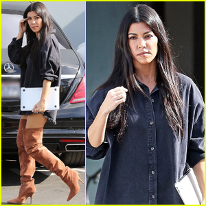 Kourtney Kardashian Shares Fun Disneyland Throwback!