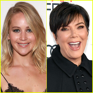 Kris Jenner Recalls Jennifer Lawrence Stripping to Nothing in Her Closet