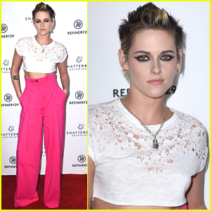 Kristen Stewart Rocks Neon Pink Pants for 'Come Swim' Screening