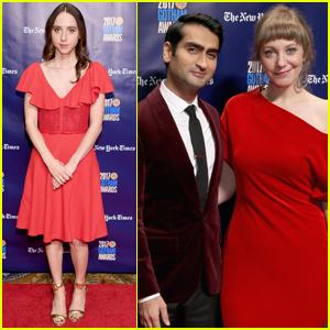 Kumail Nanjiani & Zoe Kazan Bring 'The Big Sick' to Gotham Awards 2017