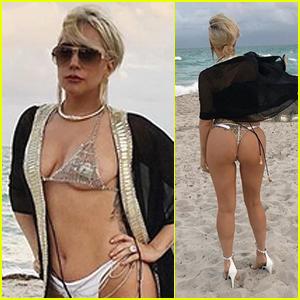 gaga bikini Lady