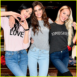 Chinese Model Liu Wen Joins Taylor Hill & Candice Swanepoel for Shanghai Store Appearance