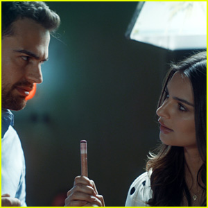 Theo James & Emily Ratajkowski Star in 'Lying & Stealing' - First Look From the Film!