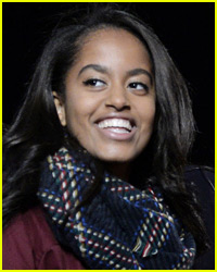 Malia Obama Spotted Kissing Mystery Guy at Football Game