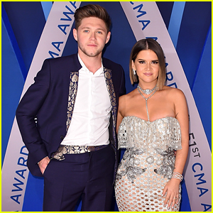 Maren Morris & Niall Horan Arrive at CMA Awards 2017 Ahead of Performance